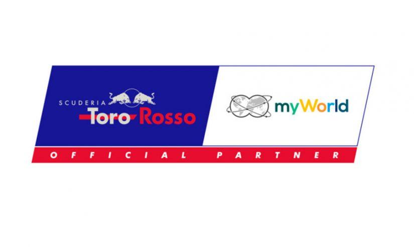 F1 | ホンダのパワーユニット積むスクーデリア・トロロッソ、新スポンサー『マイワールド』と複数年契約