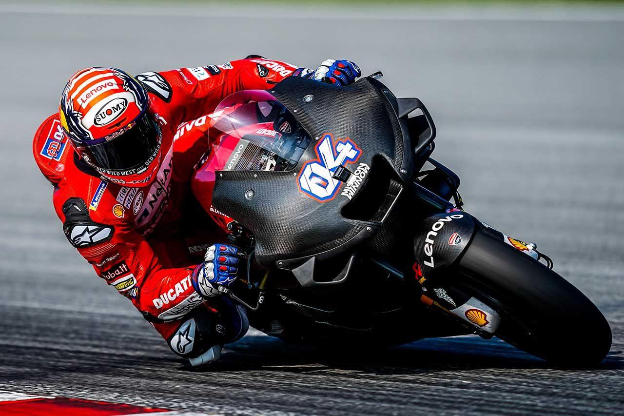 ドゥカティ新空力カウルの「フィーリングはよかった」とドヴィツィオーゾ/MotoGPセパンテスト3日目コメント