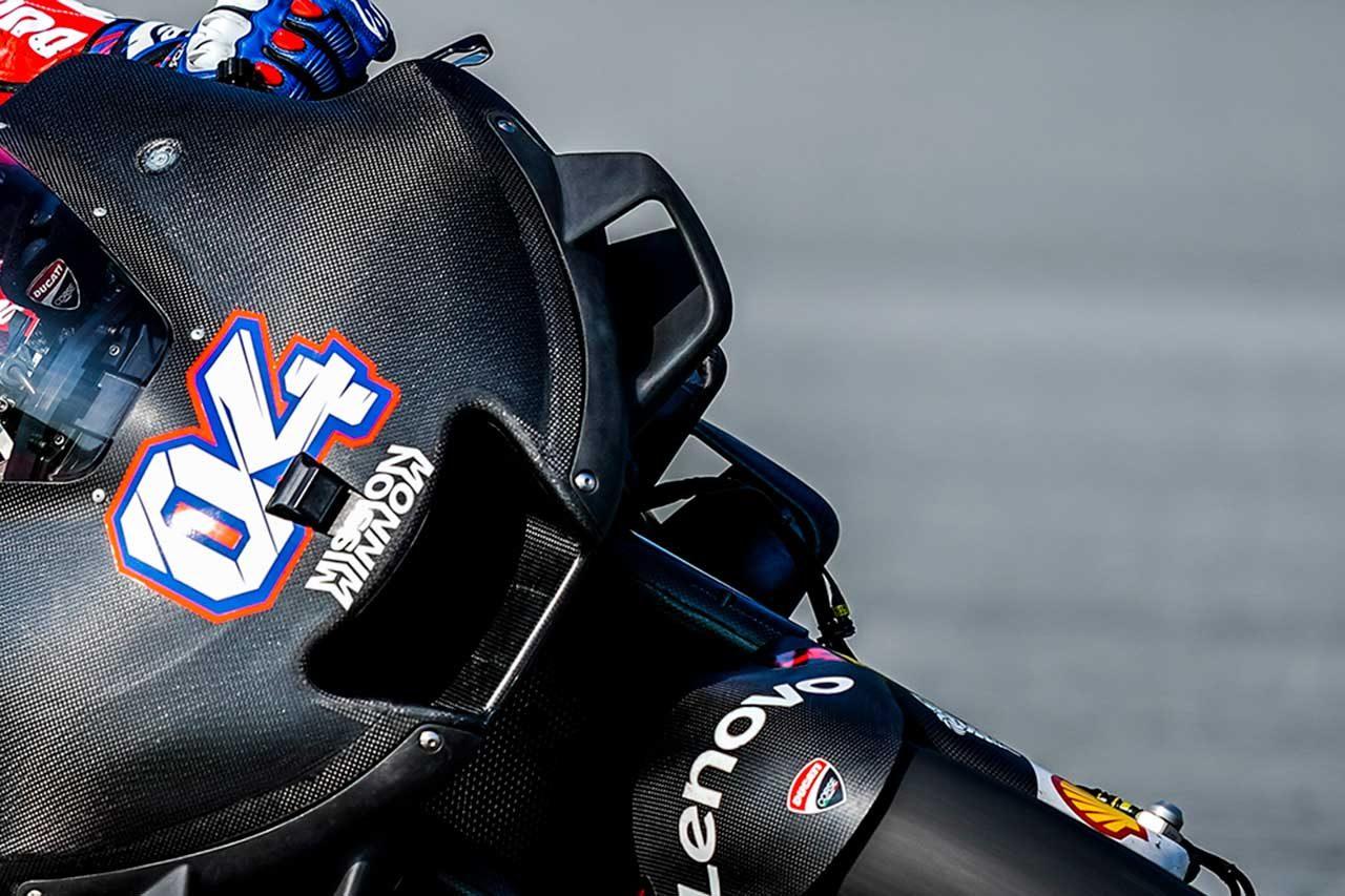 ドゥカティ新カウルの「フィーリングはよかった」とドヴィツィオーゾ/MotoGPセパンテスト3日目コメント