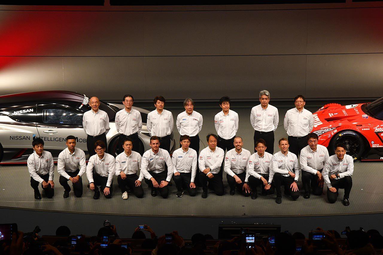 8名中4人を入れ替え。王座奪還目指すニッサン/ニスモが2019年GT500参戦体制を発表