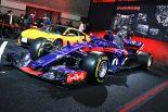 F1マシンのトロ・ロッソSTR13とホンダNSX