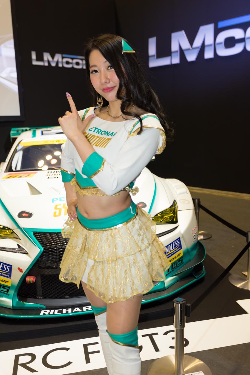 大阪オートメッセ2019コンパニオンギャラリー<br>瀬戸乙葉/大阪トヨペット
