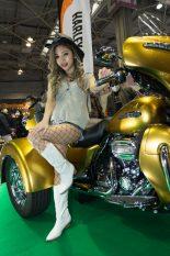 大阪オートメッセ2019コンパニオンギャラリーRisa/RubberDIP.jp×ハーレーダビッドソン神戸