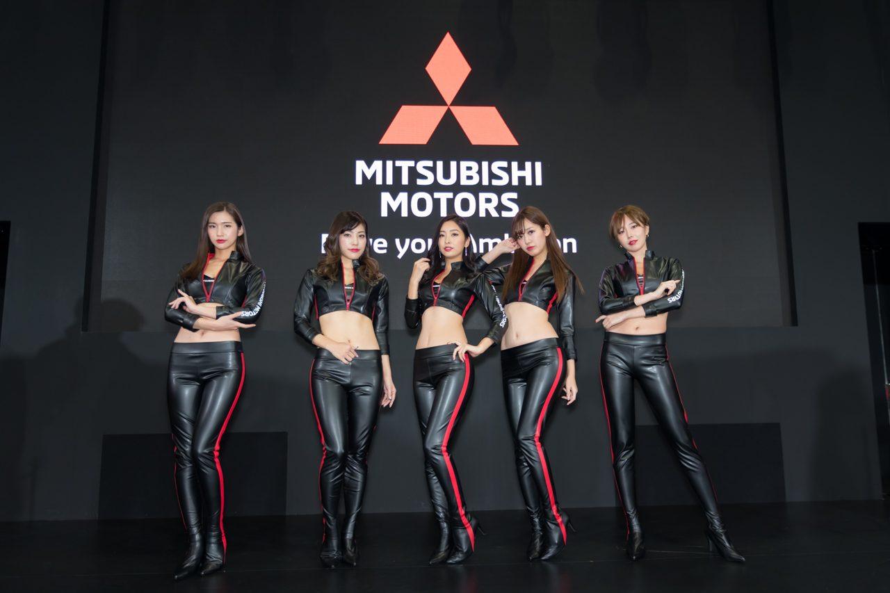 大阪オートメッセ2019/ミツビシブース
