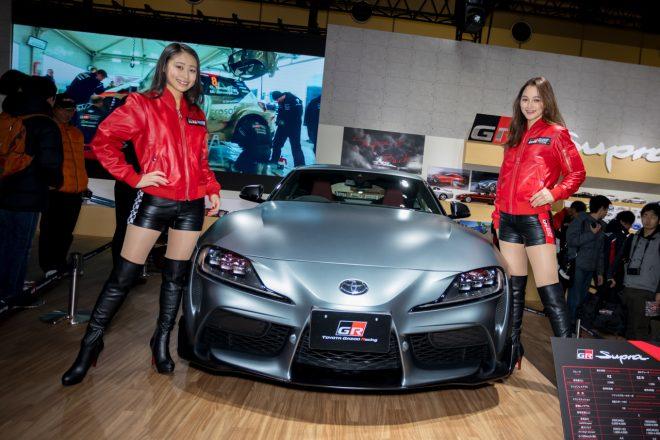 大阪オートメッセ2019/TOYOTA GAZOO Racingブース