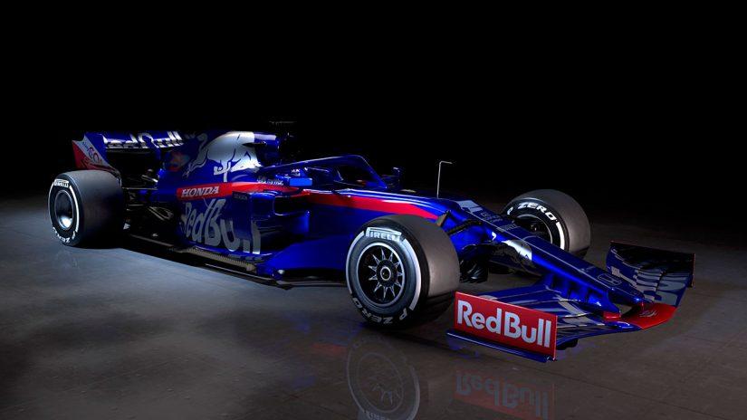 F1 | ホンダPUとの提携2年目を迎えるトロロッソF1が2019年の新車『STR14』を正式発表