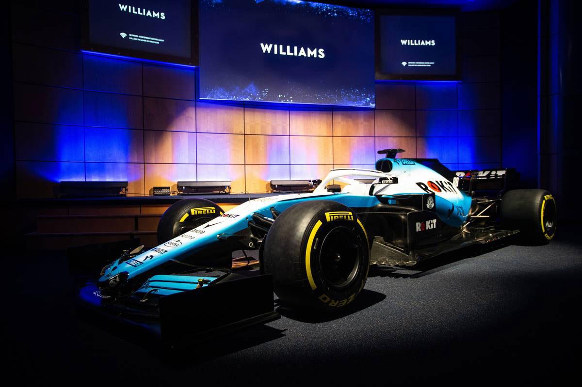 ウイリアムズF1が新マシンカラーリングを発表