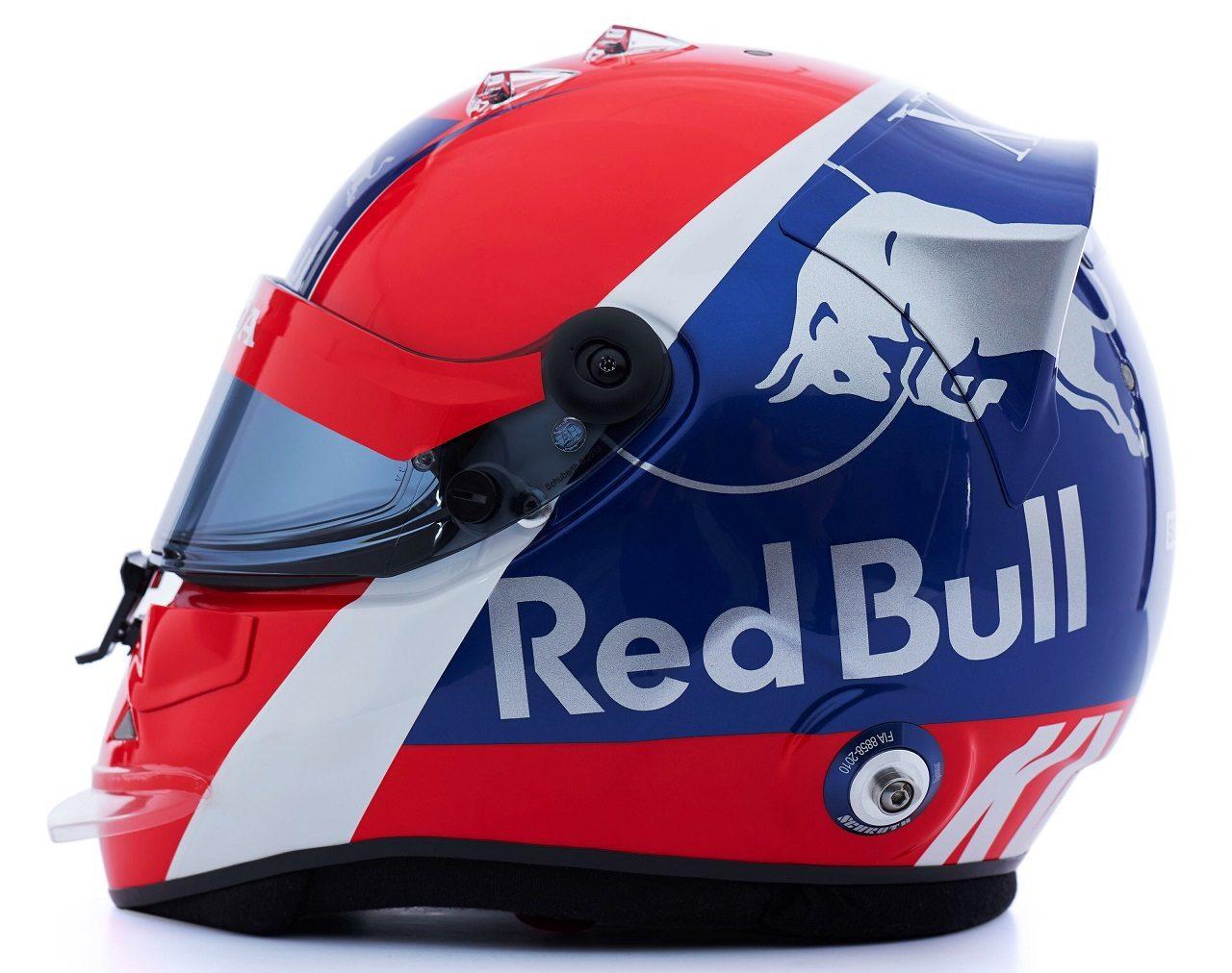 ダニール・クビアトの2019年版ヘルメット