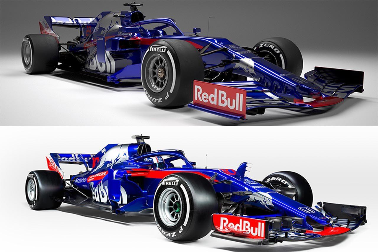 【新旧F1マシンスペック比較】トロロッソ・ホンダ編:レッドブル・テクノロジーとの関係が強化されたSTR14