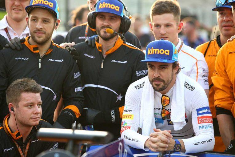 F1   マクラーレンF1、アロンソのバルセロナテスト起用について明言を避ける