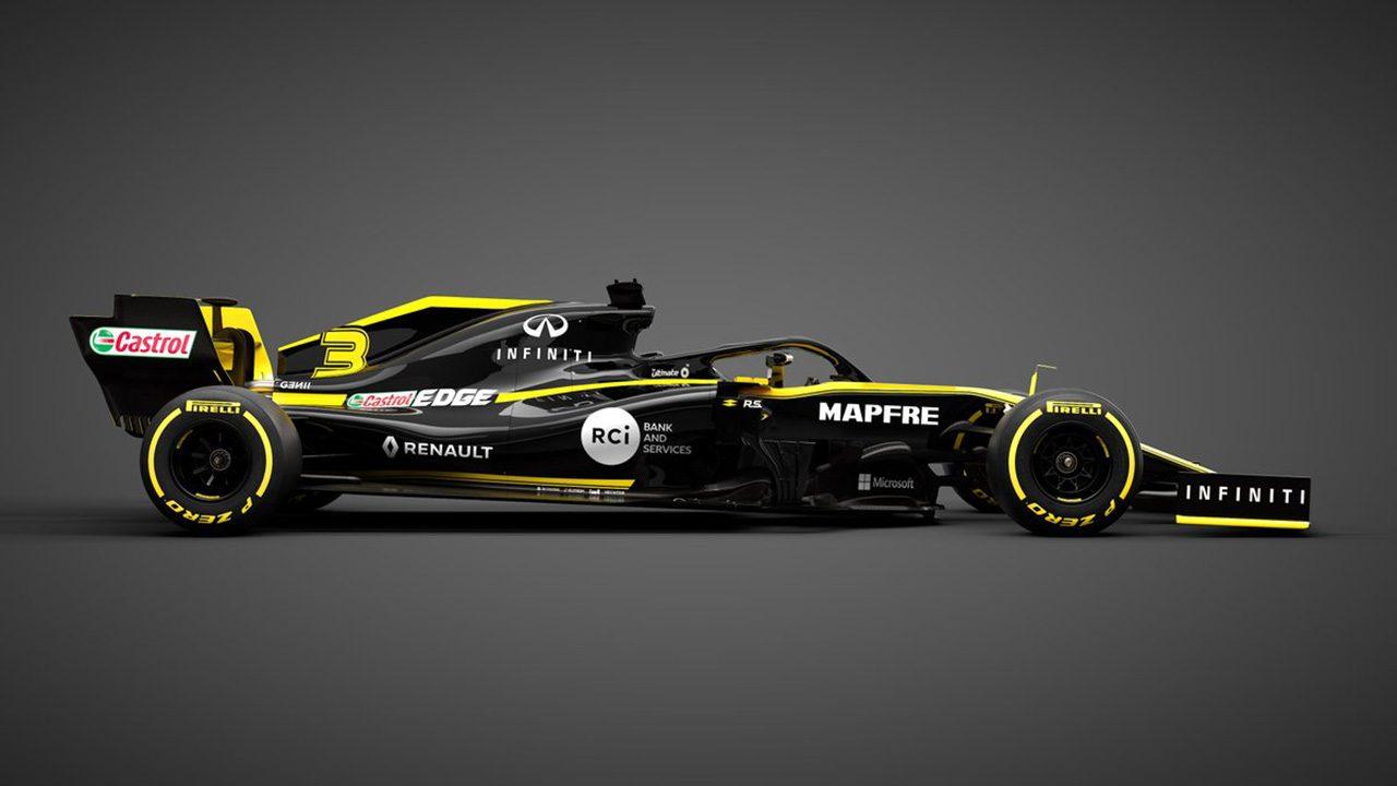 ルノーF1が2019年の新車『R.S.19』を初公開