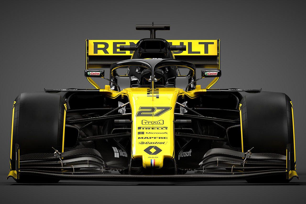 【F1新車ギャラリー】ルノーF1チームR.S.19