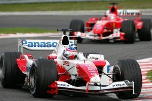 オリビエ・パニスは2003年から翌2004年までトヨタF1のレギュラードライバーを務めた