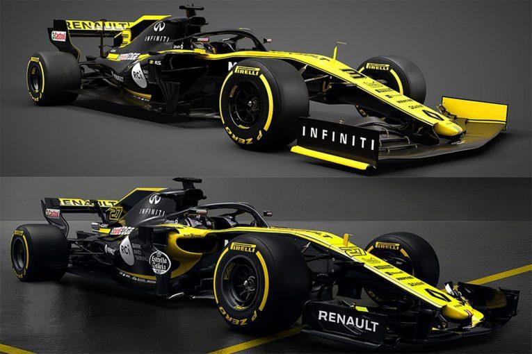 F1 | 【新旧F1マシンスペック比較】ルノー編:カラーリングに大きな変更はなし。R.S.19のシャシー完成が急がれる