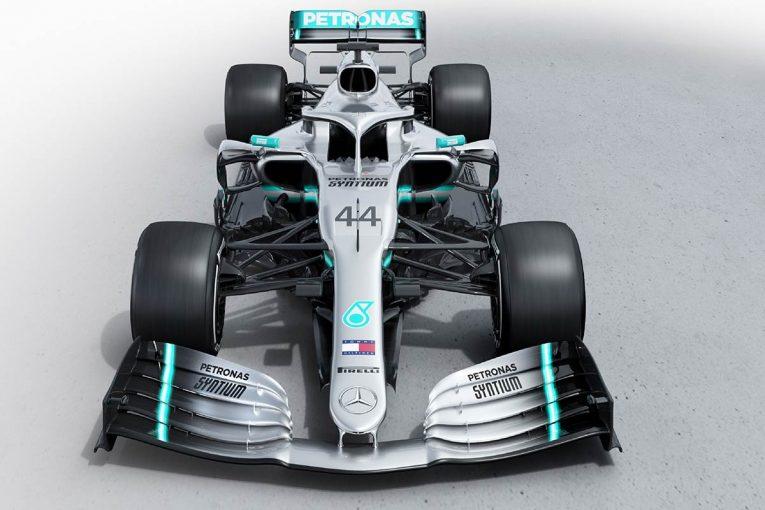 F1   メルセデスF1、ニューマシン『W10 EQ Power+』を正式発表。記録に並ぶタイトル6連覇狙う