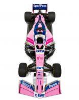スポーツペサ・レーシング・ポイントF1の2019年カラー