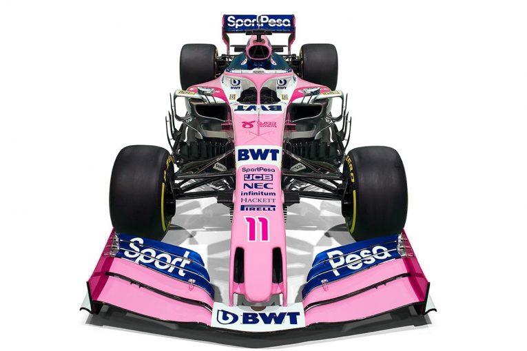 F1 | スポーツペサ・レーシング・ポイントF1が2019年型マシンのカラーリングを公開