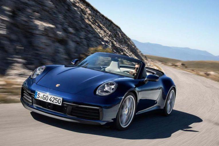 クルマ | 最高速度は300キロ超。ポルシェ、新型911カブリオレの予約受付をスタート