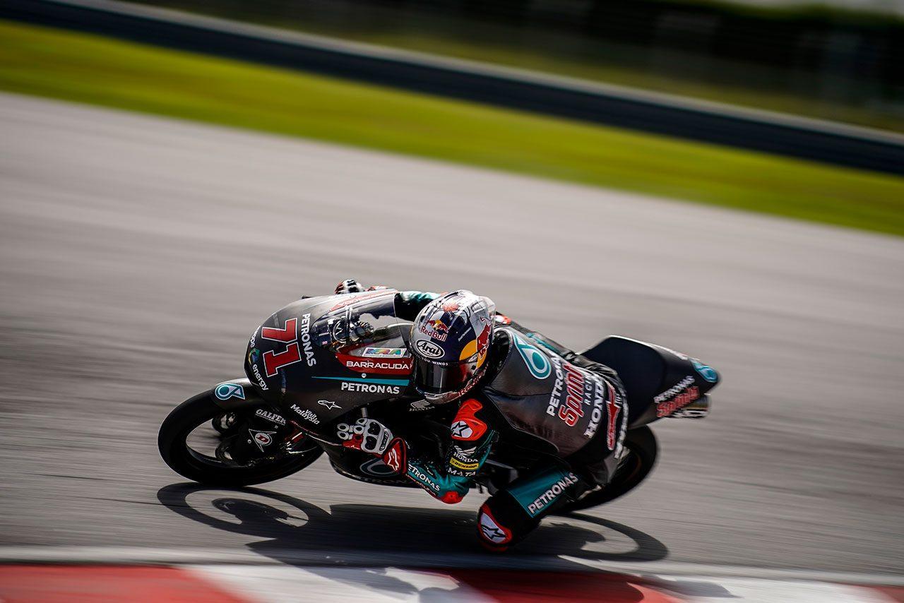 Moto2、Moto3がへレスでプライベートテストを実施。ロッシ義弟マリーニ、ロウズが各日トップタイム