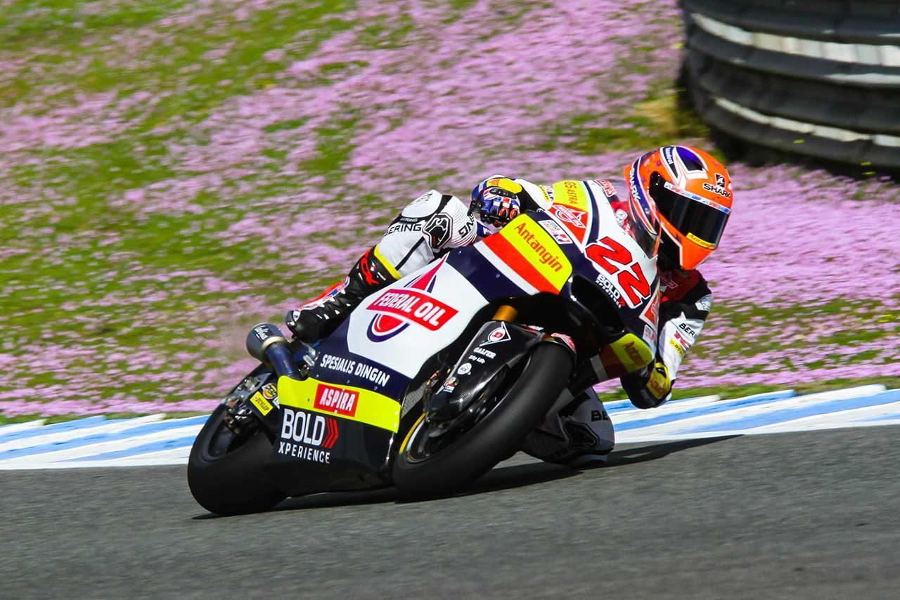 Moto2、Moto3がへレスでプライベートテストを実施。ロッシ義弟マリーニが初日トップタイム