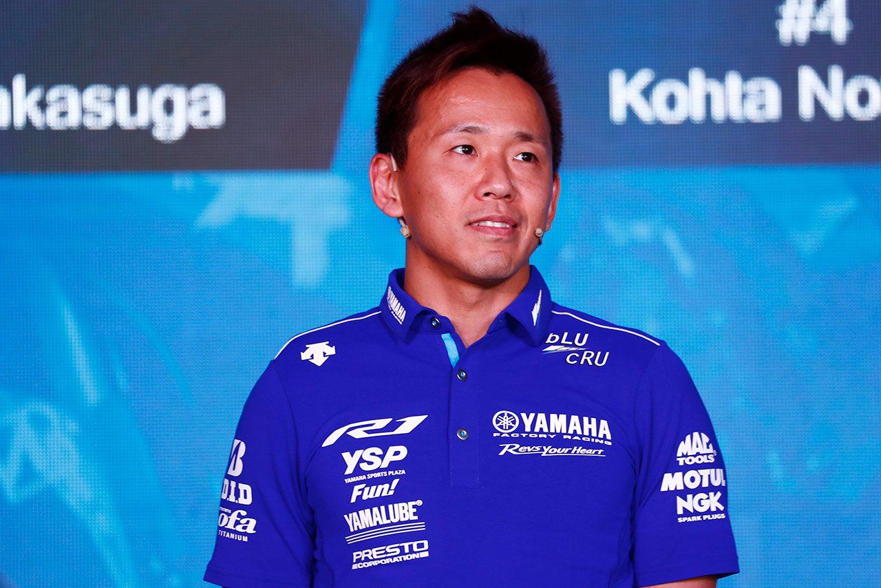 2019年シーズンも中須賀はJSB1000クラスにヤマハファクトリーから参戦し、9度目のタイトル獲得に挑戦する