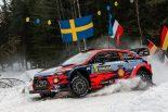 ラリー/WRC | WRCスウェーデン:大会直前のシェイクダウンはヒュンダイがトップ。トヨタは2.2秒差の2番手
