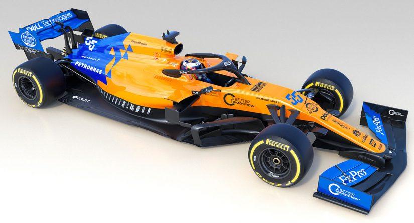 F1 | マクラーレンF1、2019年型マシン『MCL34』をアンベイル。新コンビで再起目指す