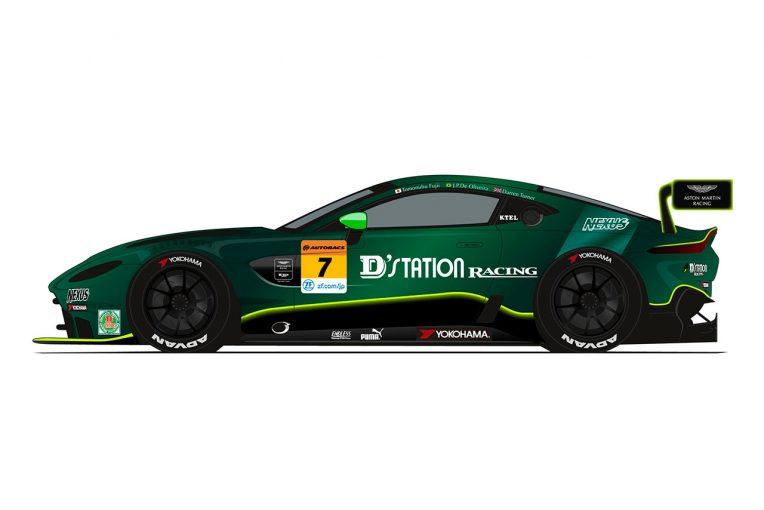 スーパーGT | D'station Racing AMR発進! アストンマーチン・バンテージGT3と藤井&JPの強力コンビでGT300参戦