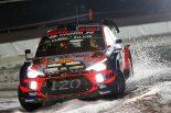 ラリー/WRC | WRCスウェーデン:SS1はヒュンダイのヌービル最速。トヨタはタナク4番手、グロンホルムが8番手