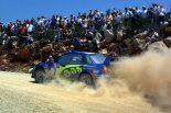 2003年、ペター・ソルベルグがドライブしたスバル・インプレッサWRC