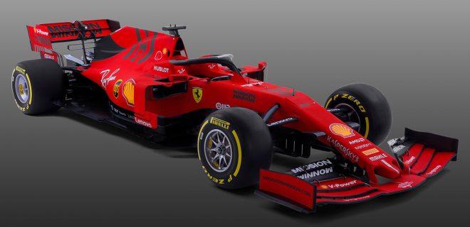 フェラーリF1、2019年型マシン『SF90』を正式発表