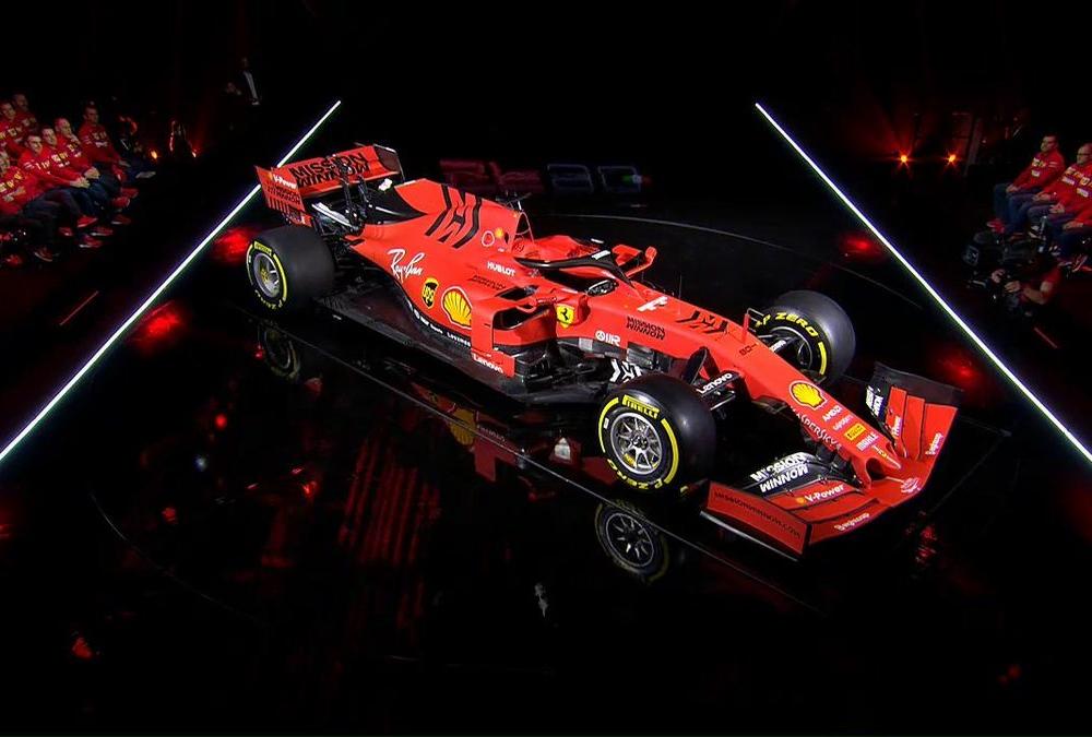 フェラーリの2019年型マシン『SF90』発表会