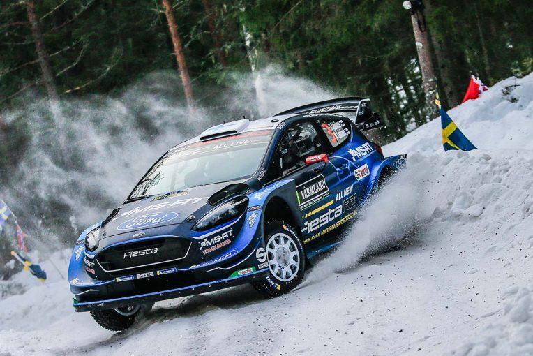 ラリー/WRC | WRCスウェーデン:競技2日目はフォードが首位。トヨタはタナク2番手、ラトバラはリタイア