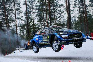 ラリー/WRC | 【順位結果】2019WRC第2戦スウェーデン SS8後