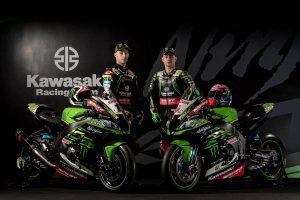 カワサキ・レーシングチーム・ワールドSBKのジョナサン・レイとレオン・ハスラム、それぞれのZX-10RR