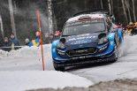 WRCスウェーデン:競技3日目、トヨタのタナクが54.5秒リードでトップに浮上