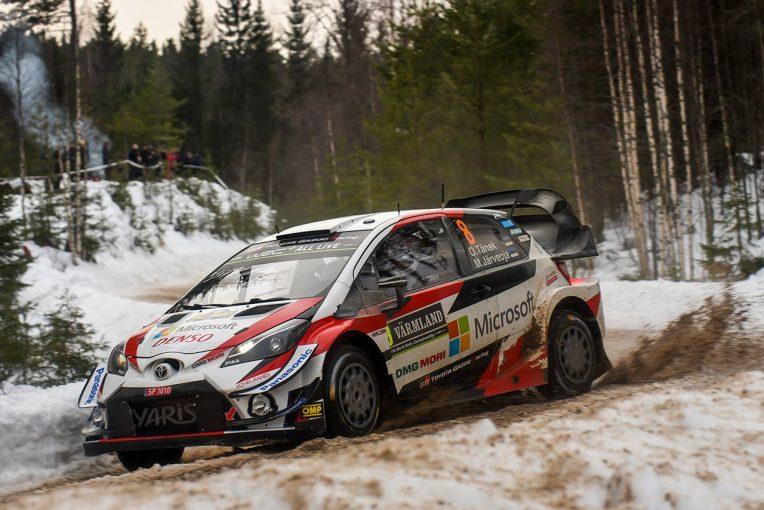 ラリー/WRC | WRCスウェーデン:競技3日目、トヨタのタナクが54.5秒リードでトップに浮上