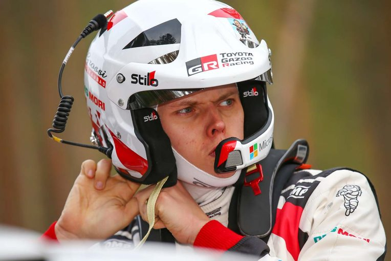 ラリー/WRC | WRC:トヨタ、2019年初優勝へ王手。タナクは「賢い走りで優勝に大きく近づいた」