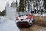 WRC:トヨタ、2019年初優勝へ王手。タナクは「賢い走りで優勝に大きく近づいた」