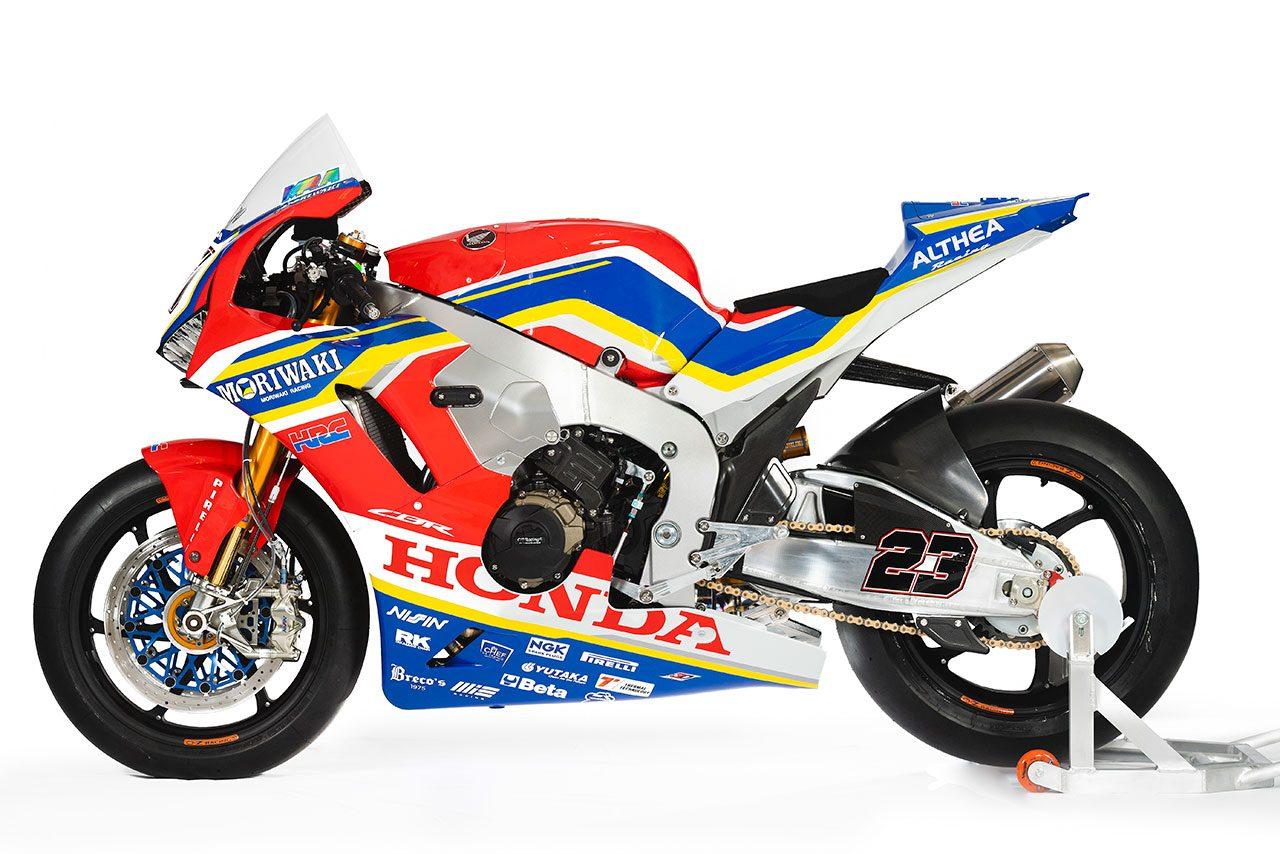 モリワキ-アルティア・ホンダ・チームの2019年シーズンSBKマシン『ホンダCBR1000RR SP2』
