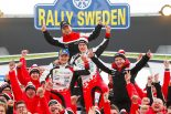 """WRC:第2戦の勝利に豊田章男チーム総代表がコメント。元トヨタ、ラッピの活躍に「""""少し""""嬉しさも」"""