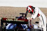 F1 | 【F1ギャラリー】バルセロナテスト1日目がスタート。アルファロメオのキミ・ライコネンが赤旗第1号に