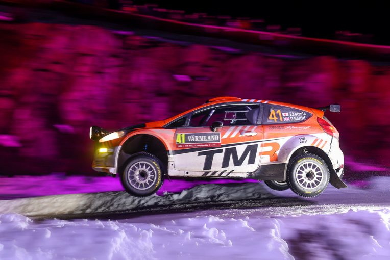 ラリー/WRC   WRC:勝田貴元、第2戦スウェーデンは最終SSでリタイア。「これまでに経験したことがないコンディション」