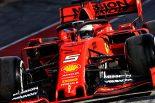 F1 | 【F1バルセロナテスト1日目_午前タイム結果】ベッテルがトップ、レッドブル・ホンダのフェルスタッペンは5番手