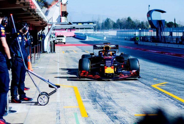 F1   「ホンダ製パワーユニットとRB15が美しく統合」。レッドブルF1代表、新パートナーシップのメリットをすでに実感