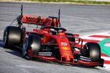 F1 | フェラーリ&ベッテルが完璧な初日で首位。マクラーレンが2番手に続く/F1テスト1回目デイ1