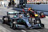 2019年第1回F1テスト1日目 ルイス・ハミルトン(メルセデス)