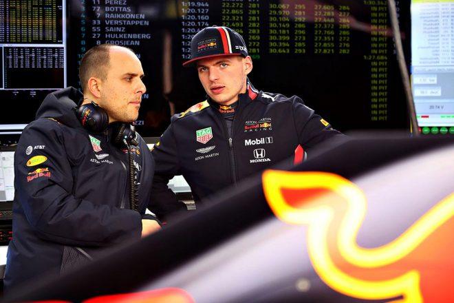 2019年バルセロナテスト1日目:レッドブル・ホンダのマックス・フェルスタッペンは128周を走破