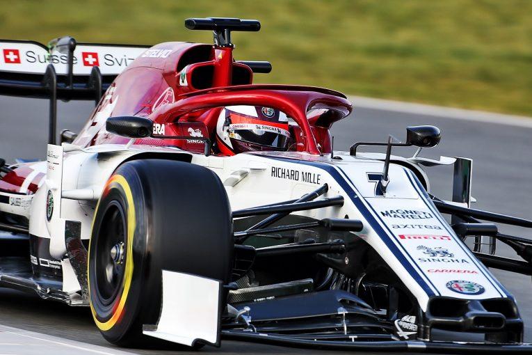 F1 | ライコネン「スピン以外はとても順調な初日」。アルファロメオのニューマシンを称賛