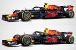 【新旧F1マシンスペック比較】レッドブル・ホンダ編:今年も恒例のマットカラー。マシン後部がタイトになったRB15
